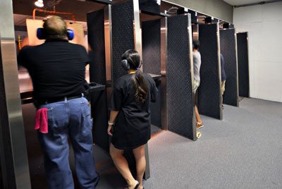 Indoor Range Stalls